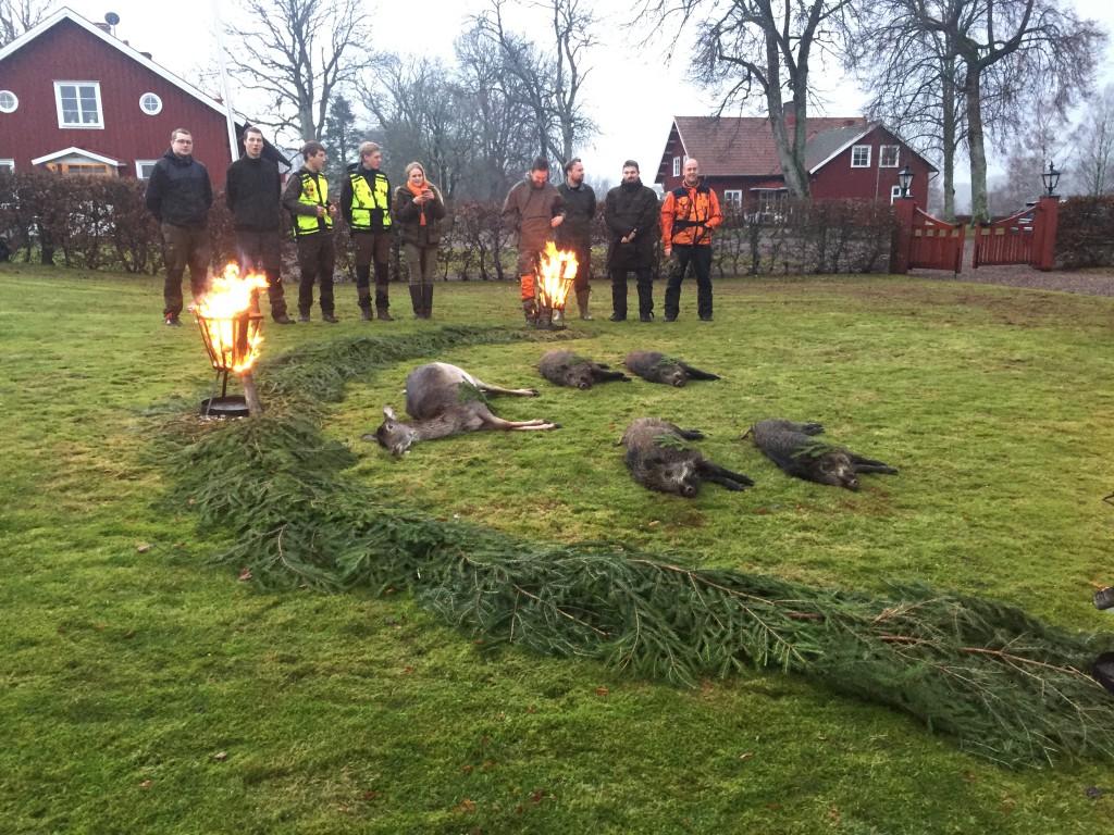 Fin parad av eleverna i Svenljunga