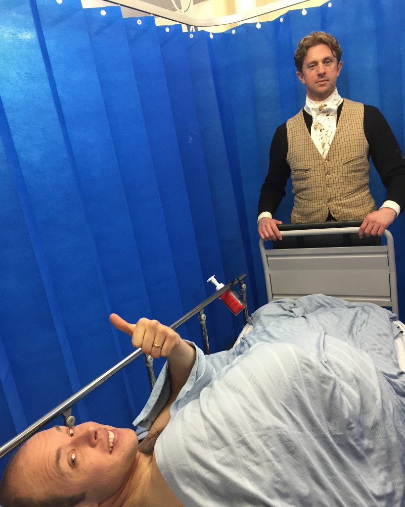 På akuten på Banbury Hospital